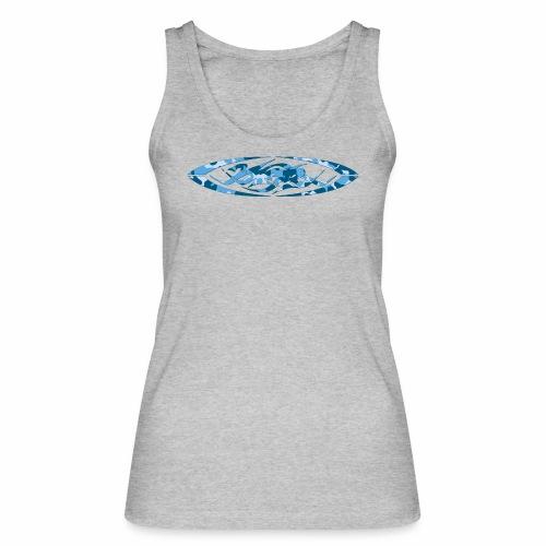 2wear original logo cammo blue - Økologisk Stanley & Stella tanktop til damer