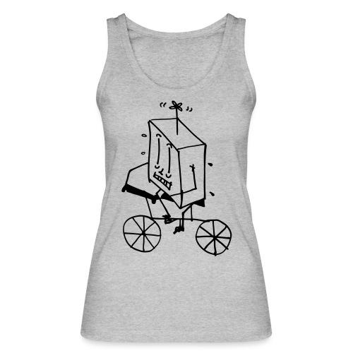 bike thing - Women's Organic Tank Top by Stanley & Stella