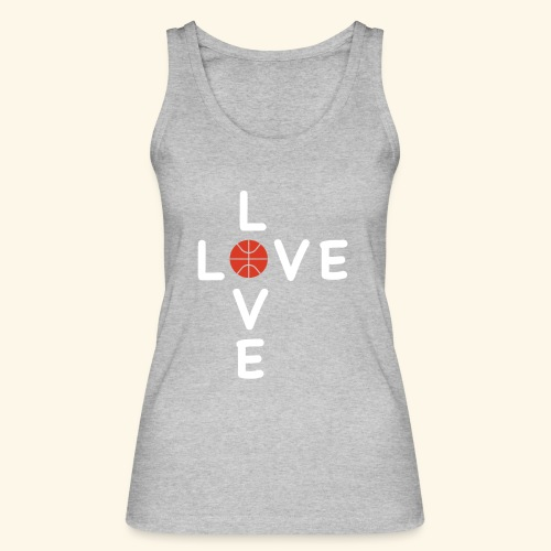 LOVE Cross basketball red 001 - Frauen Bio Tank Top von Stanley & Stella