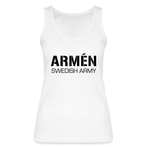 ARMÉN -Swedish Army - Ekologisk tanktopp dam från Stanley & Stella