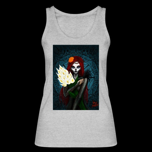 Death and lillies - Women's Organic Tank Top by Stanley & Stella