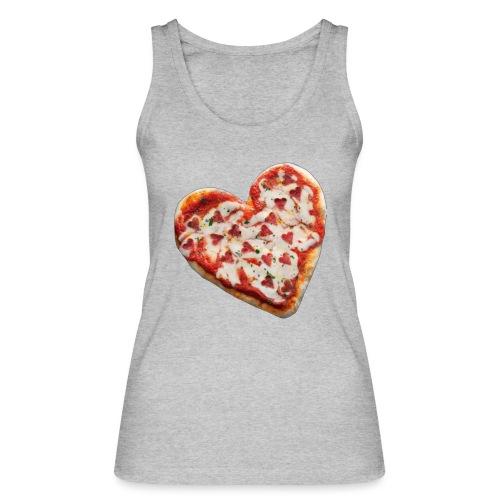Pizza a cuore - Top ecologico da donna di Stanley & Stella