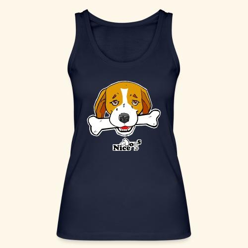 Nice Dogs Semolino - Top ecologico da donna di Stanley & Stella