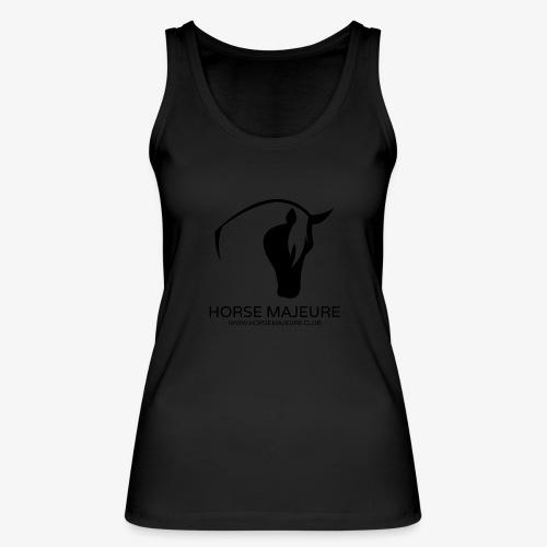 Horse Majeure Logo / Musta - Stanley & Stellan naisten luomutanktoppi