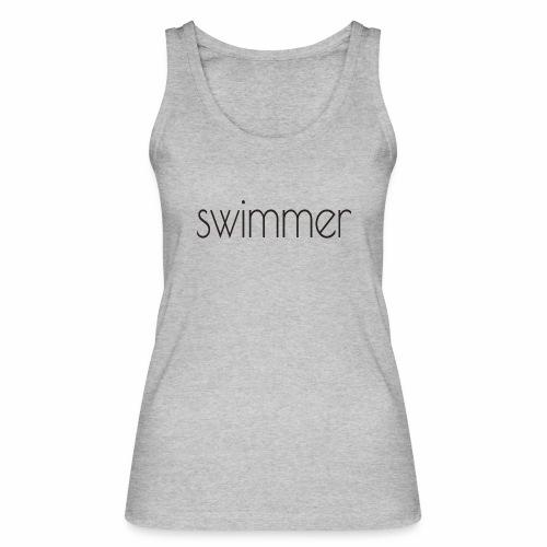 swimmer text - Frauen Bio Tank Top von Stanley & Stella