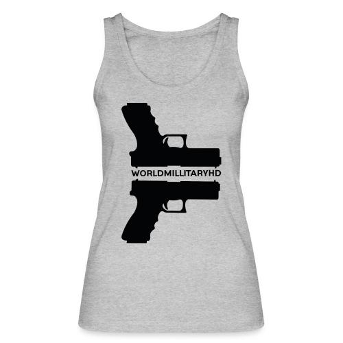 WorldMilitaryHD Glock design (black) - Vrouwen bio tanktop van Stanley & Stella