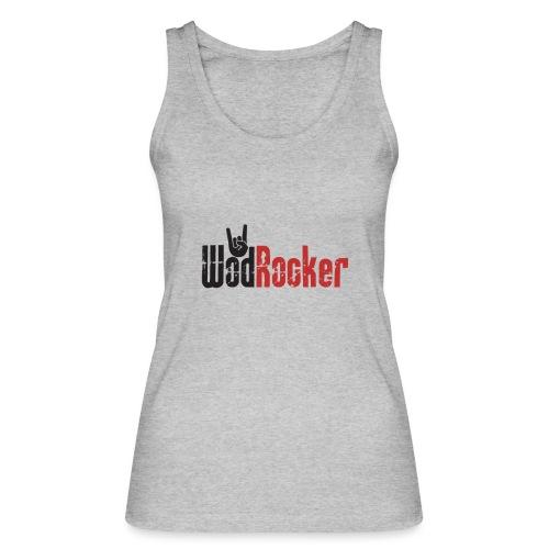 wodrocker logo - Women's Organic Tank Top by Stanley & Stella