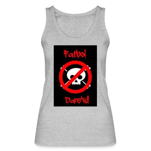 Fatboi Dares's logo - Women's Organic Tank Top by Stanley & Stella