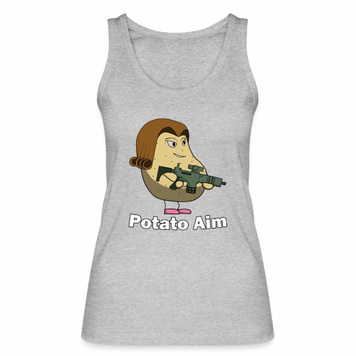 Mrs Potato Aim - Women's Organic Tank Top by Stanley & Stella