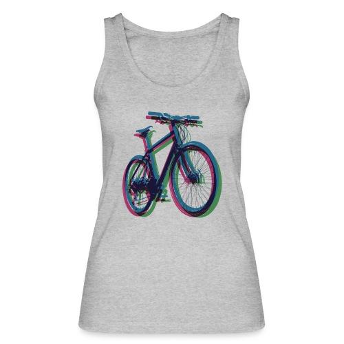 Bike Fahrrad bicycle Outdoor Fun Mountainbike - Women's Organic Tank Top by Stanley & Stella