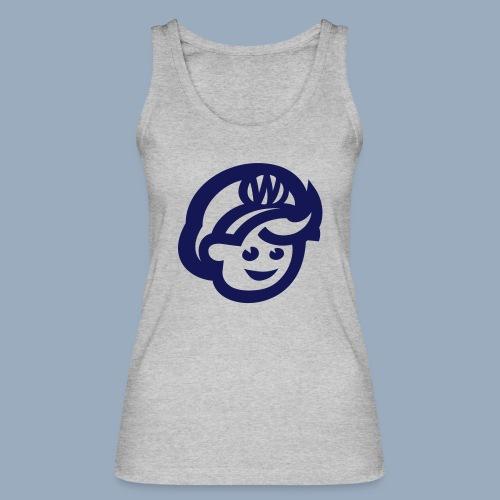 logo bb spreadshirt bb kopfonly - Frauen Bio Tank Top von Stanley & Stella