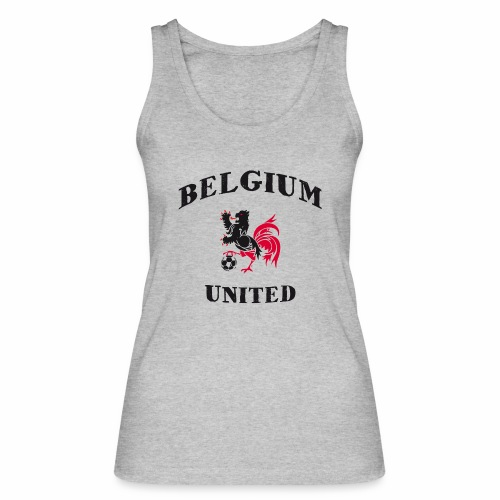 Belgium Unit - Women's Organic Tank Top by Stanley & Stella