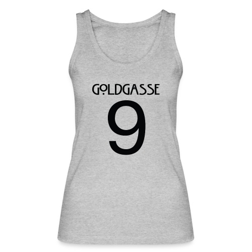 Goldgasse 9 - Back - Women's Organic Tank Top by Stanley & Stella