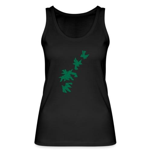 Green Leaves - Frauen Bio Tank Top von Stanley & Stella