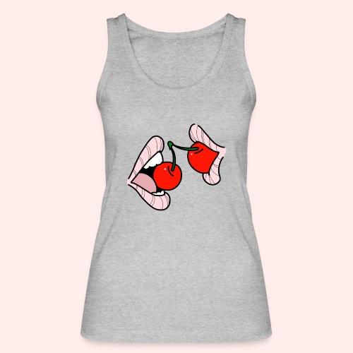 Cherry lips - Frauen Bio Tank Top von Stanley & Stella