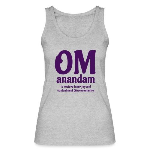 TS Om Anandam purple - Top ecologico da donna di Stanley & Stella
