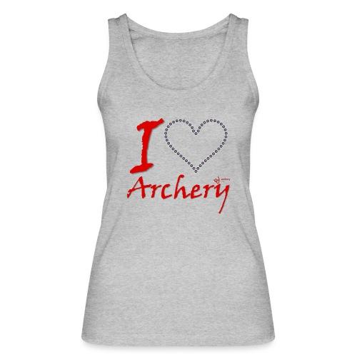 Archery Love - Frauen Bio Tank Top von Stanley & Stella