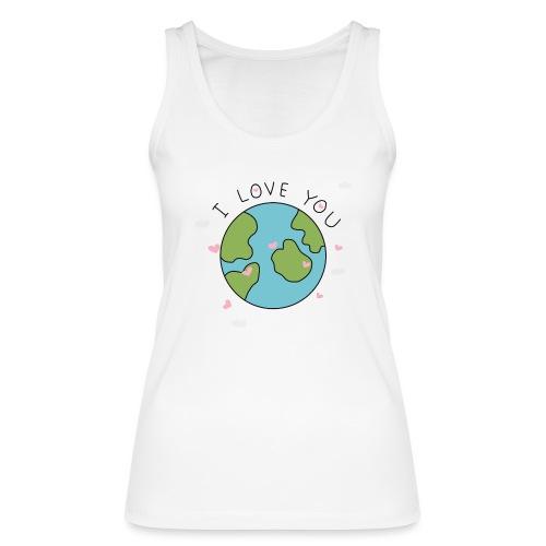 iloveyou - Top ecologico da donna di Stanley & Stella