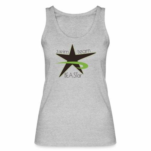 BeAStar BeAStar noStar grey green - Frauen Bio Tank Top von Stanley & Stella