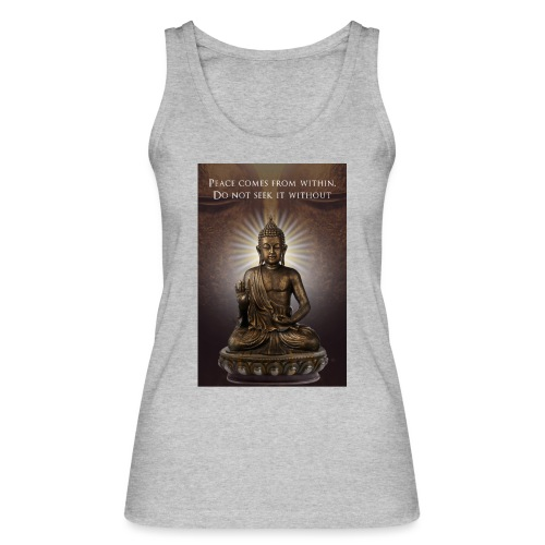 Peace from Within - Women's Organic Tank Top by Stanley & Stella
