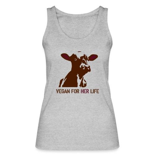 vegan for her life - Frauen Bio Tank Top von Stanley & Stella