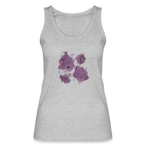 Violet splash chinchilla - Stanley & Stellan naisten luomutanktoppi