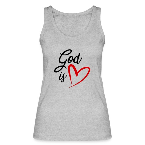 God is love 2N - Top ecologico da donna di Stanley & Stella