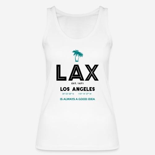 LAX è una buona idea!! - Top ecologico da donna di Stanley & Stella