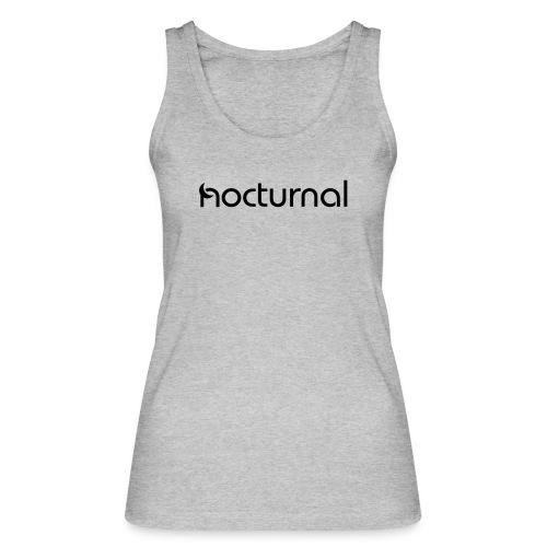 Nocturnal Black - Women's Organic Tank Top by Stanley & Stella