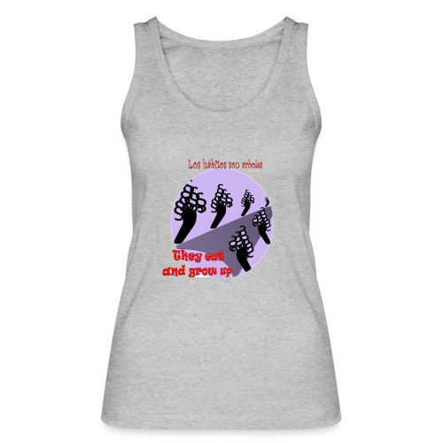 hábitos - Camiseta de tirantes ecológica mujer de Stanley & Stella