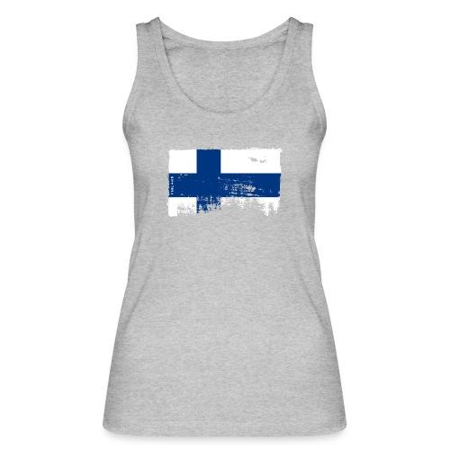 Suomen lippu, Finnish flag T-shirts 151 Products - Stanley & Stellan naisten luomutanktoppi