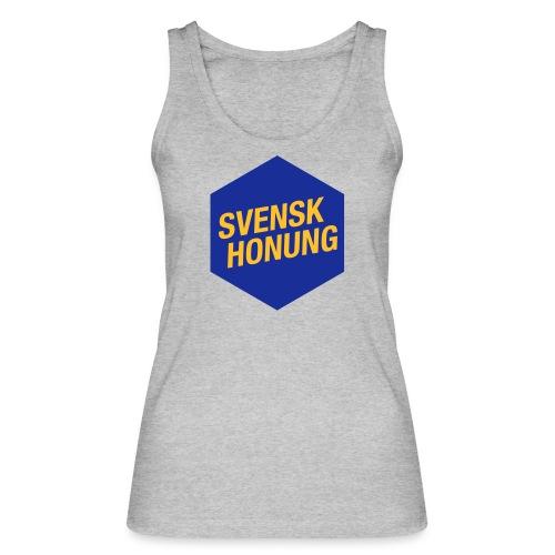 Svensk honung Hexagon Blå/Gul - Ekologisk tanktopp dam från Stanley & Stella