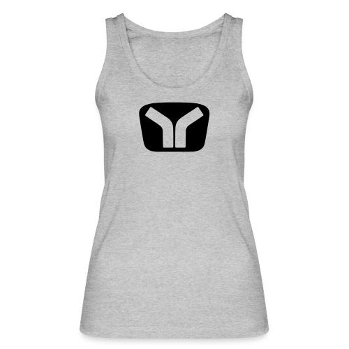 Yugo Logo Black-Transparent Design - Women's Organic Tank Top by Stanley & Stella
