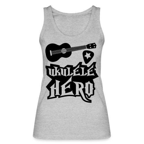 Ukelele Hero - Women's Organic Tank Top by Stanley & Stella