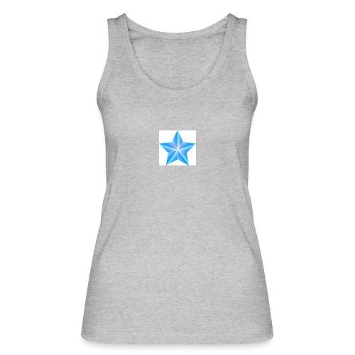 blue themed christmas star 0515 1012 0322 4634 SMU - Women's Organic Tank Top by Stanley & Stella