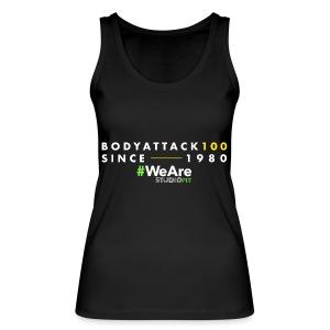 BodyAttack 100 StudioFit Launch Wear - Women's Organic Tank Top by Stanley & Stella
