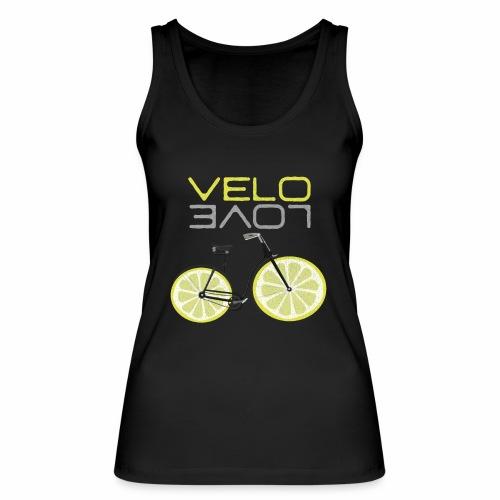 Lemon Bike Shirt Velo Love Shirt Radfahrer Shirt - Frauen Bio Tank Top von Stanley & Stella