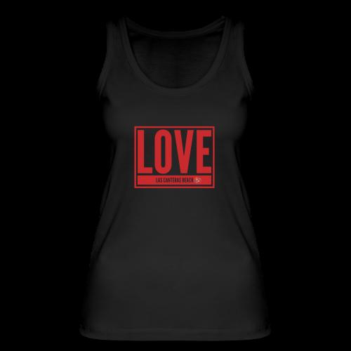 Love Las Canteras - Camiseta de tirantes ecológica mujer de Stanley & Stella
