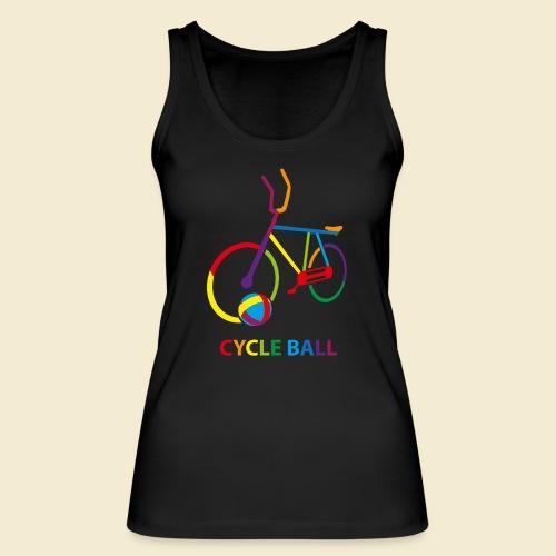 Radball | Cycle Ball Rainbow - Frauen Bio Tank Top von Stanley & Stella