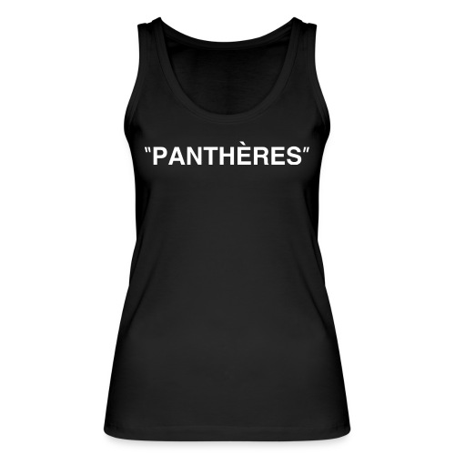 Logo PANTHERES - Débardeur bio Femme
