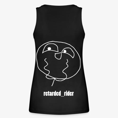 retarded rider design - Frauen Bio Tank Top von Stanley & Stella