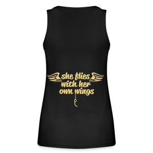 She flies... - Frauen Bio Tank Top von Stanley & Stella