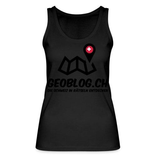 Logo+Schriftzug-hoch - Frauen Bio Tank Top von Stanley & Stella