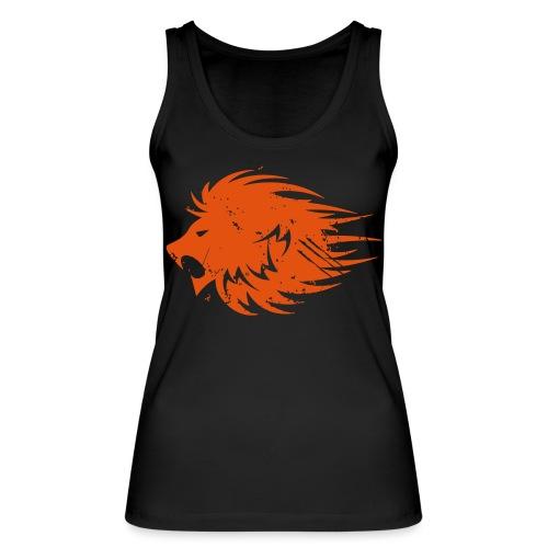 MWB Print Lion Orange - Women's Organic Tank Top by Stanley & Stella