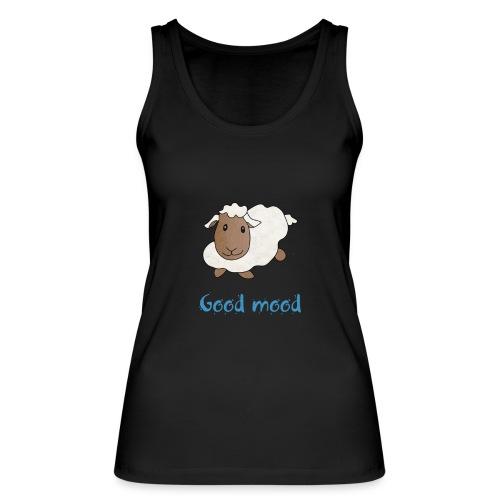 Nadège le petit mouton blanc - Débardeur bio Femme