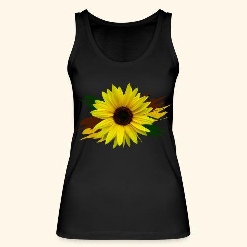 Sonnenblume, Sonnenblumen, Blume, floral, blumig - Frauen Bio Tank Top von Stanley & Stella
