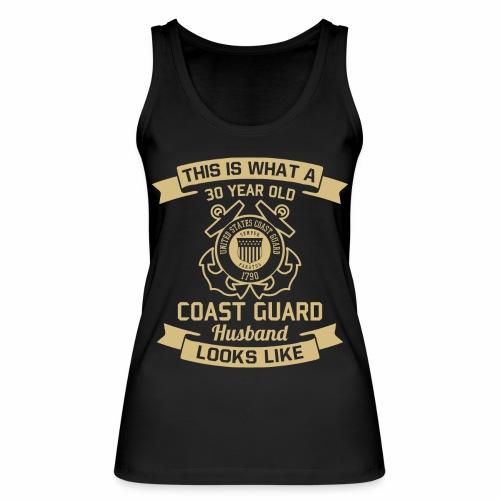 This Is What A 30 Year Old Coast Guard Husband - Frauen Bio Tank Top von Stanley & Stella