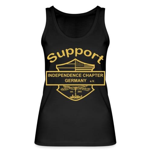 Support Indis gold - Frauen Bio Tank Top von Stanley & Stella