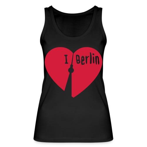 I love Berlin (1-farbig) - Frauen Bio Tank Top von Stanley & Stella