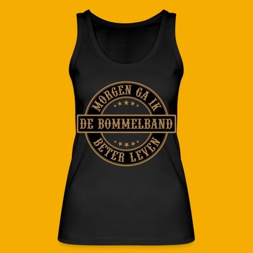 bb logo rond shirt - Vrouwen bio tanktop van Stanley & Stella
